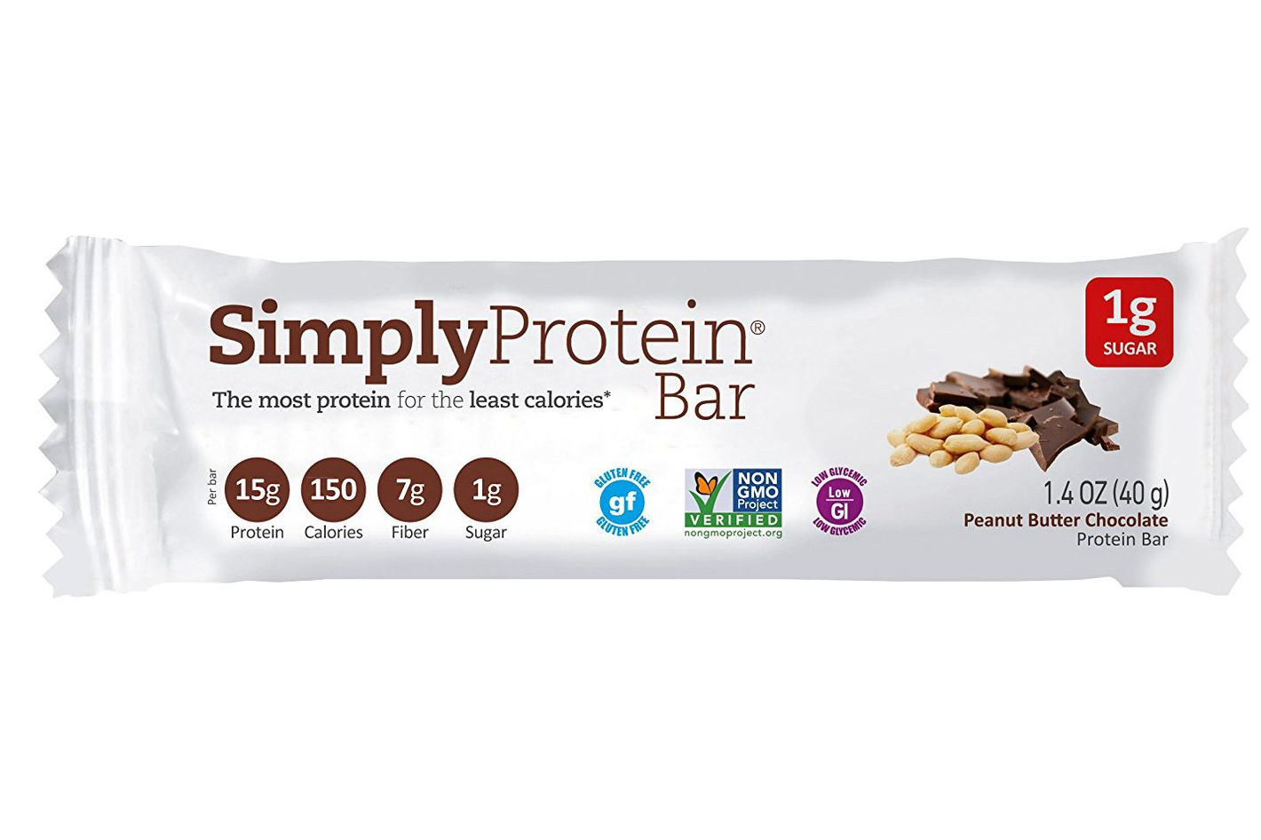Simply Protein Peanut Butter Chocolate Bar