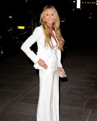 Elle Macpherson attends the Rodial Beautiful Awards at Sanderson Hotel on March 6, 2012 in London, England.
