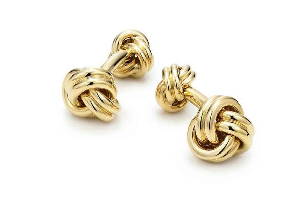 Tiffany & Co. 18k Gold Cuff Links