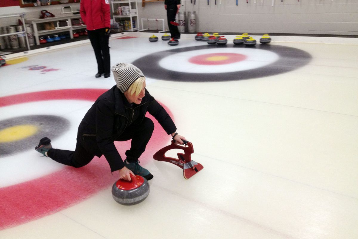 I Tried Curling To See If It S Really A Workout The Cut