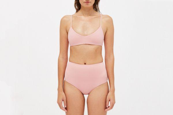 Sporty Tie Bikini Top