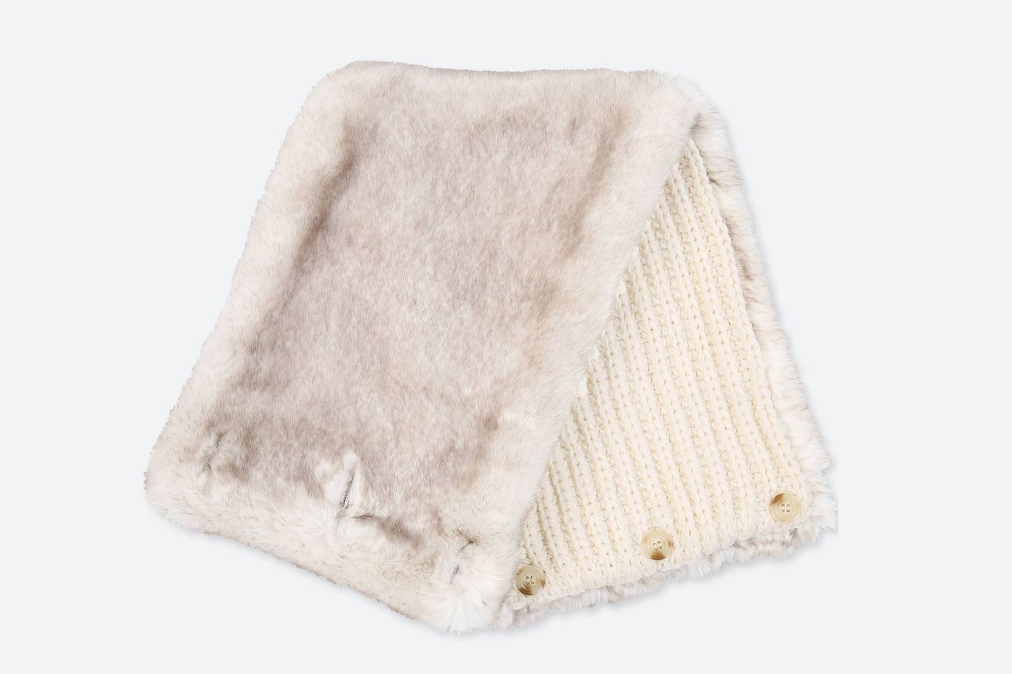 Uniqlo Faux Shearling Snood