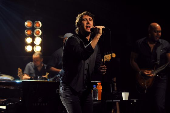 Recording artist Josh Groban performs for iHeartRadio live at iHeartRadio Theater on February 11, 2013 in New York City.