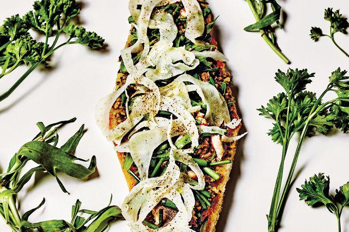 Raclette's sardine tartine.