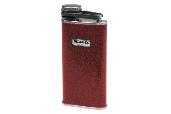 Stanley Classic 8-Ounce Hammertone Crimson Flask