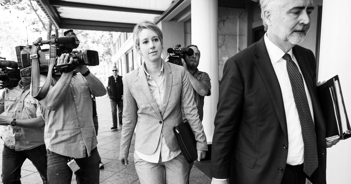 Theranos Founder Elizabeth Holmes Attends Court Hearing
