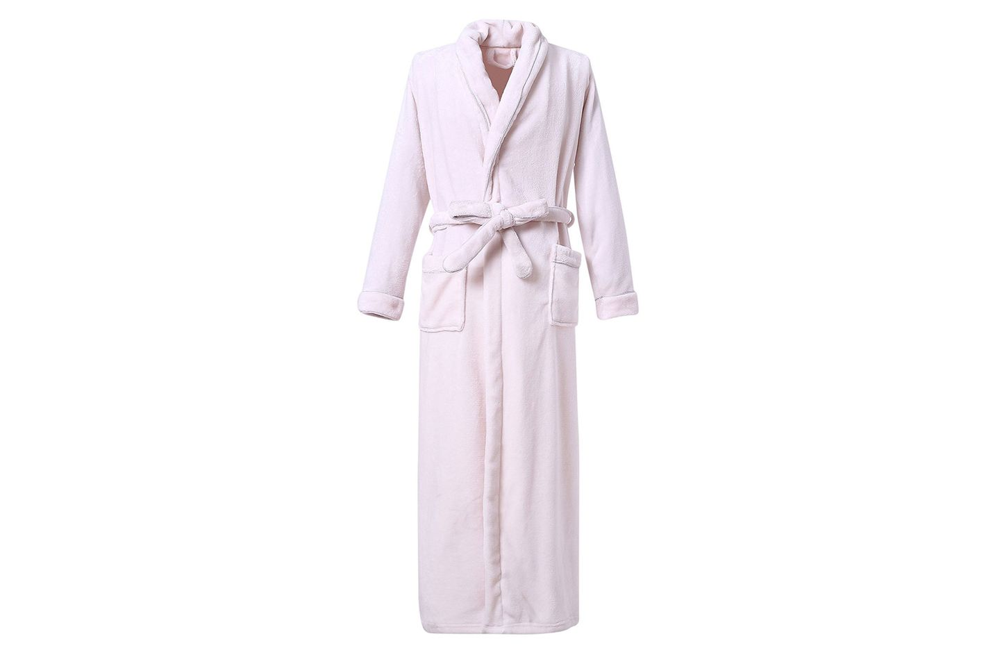 Richie House Plush Soft Warm Fleece Bathrobe Robe
