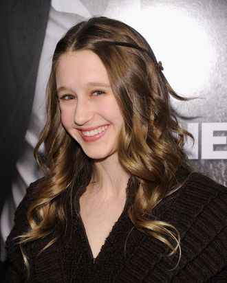 NEW YORK, NY - FEBRUARY 07: Taissa Farmiga attends the