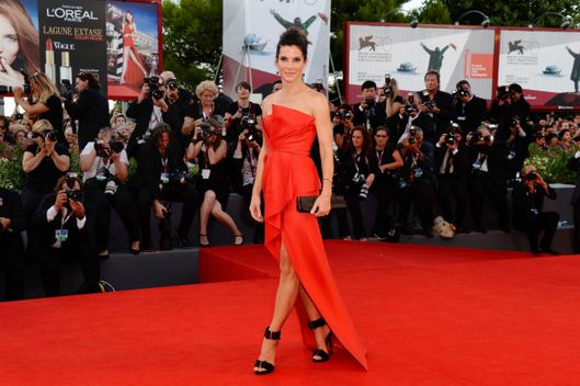 Actress Sandra Bullock attends the Opening Ceremony And 'Gravity' Premiere during the 70th Venice International Film Festival at the Palazzo del Cinema on August 28, 2013 in Venice, Italy.
