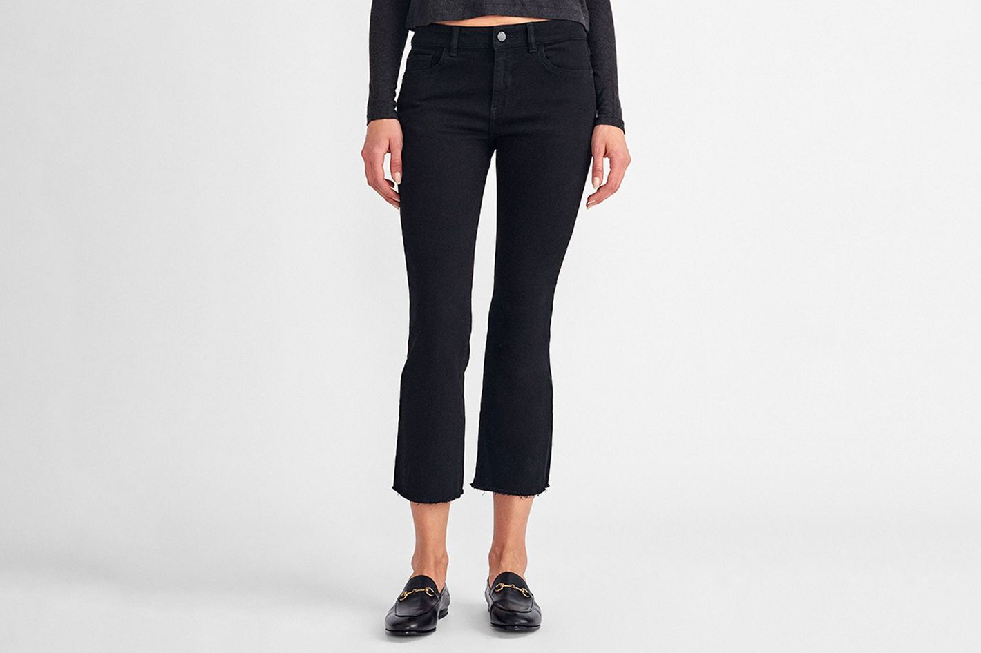DL1961 Lara Mid Rise Cropped Flare