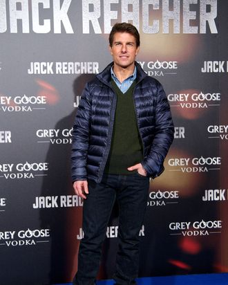 Actor Tom Cruise attends the