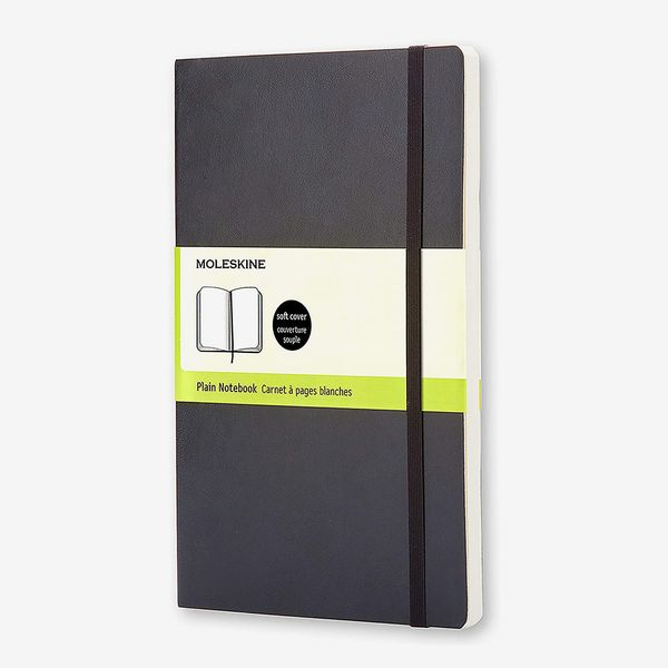 Moleskine Classic Plain Large Notebook, Soft Cover