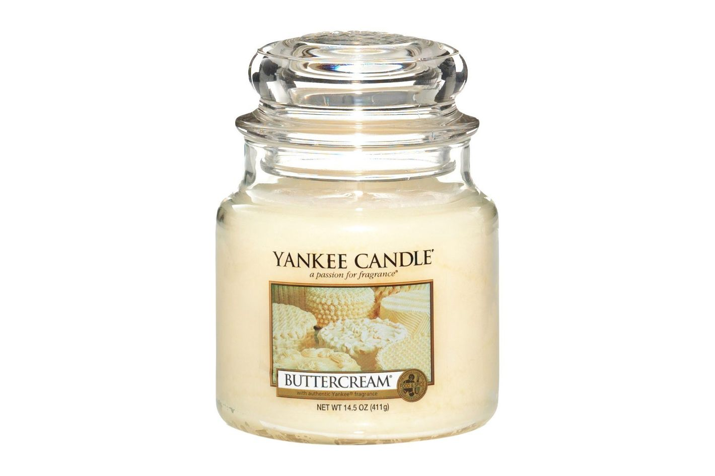 Yankee Candle Buttercream Medium Jar Candles