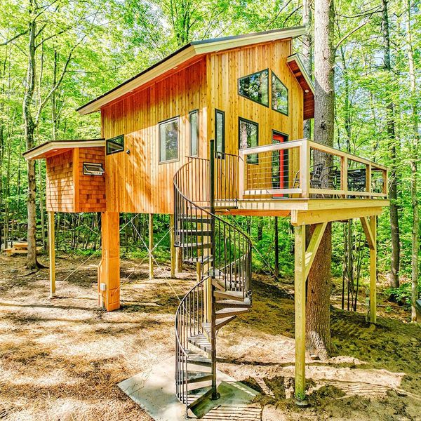 The Canopy Tree House in Sanford, Maine