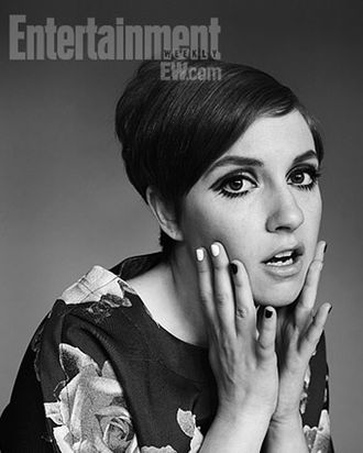 Lena Dunham as Twiggy.