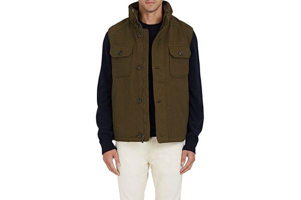 Rainforest Water-Repellent Tech-Twill Vest