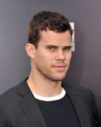 NBA player Kris Humphries attends the