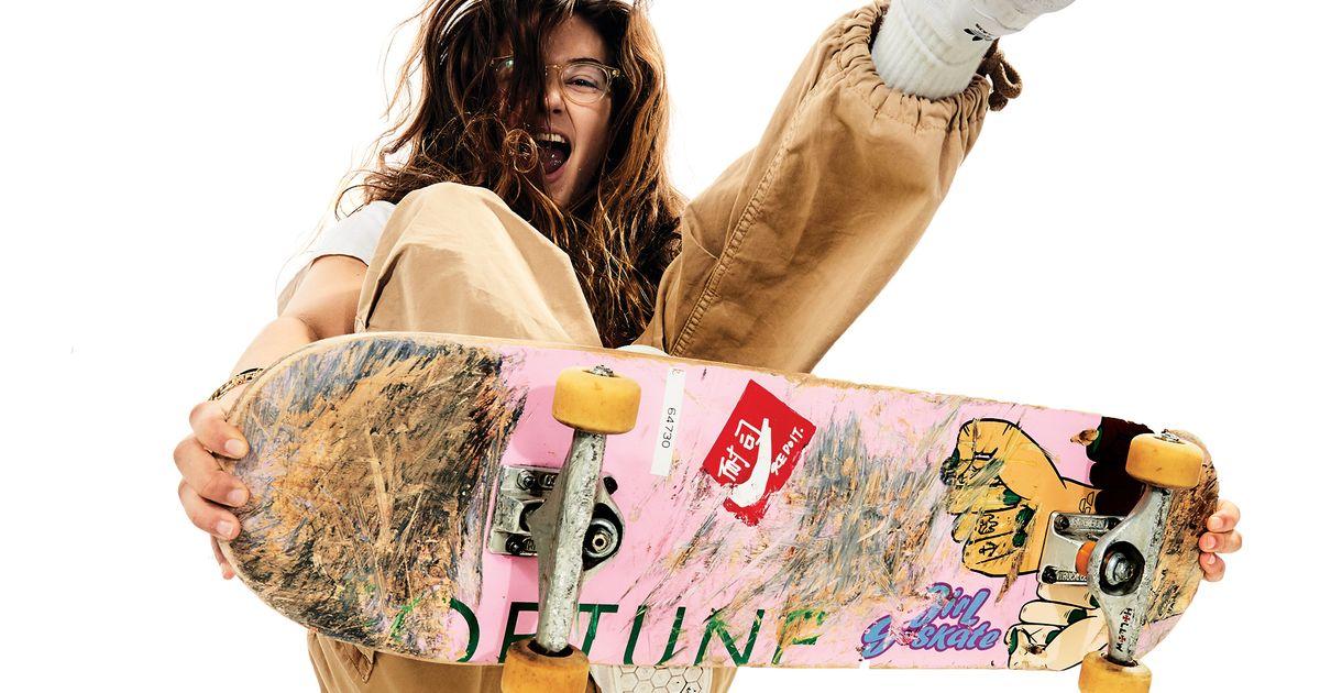 Profile Rachelle Vinberg Of Skate Kitchen