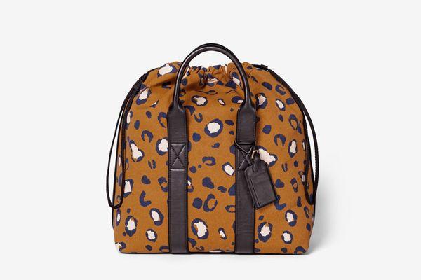 3.1 Phillip Lim for Target Leopard Print Drawstring Carryall Bag