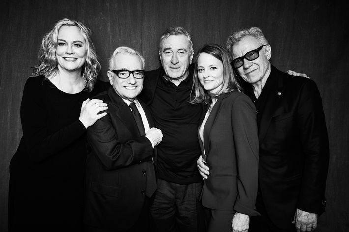"""Taxi Driver"" 40th Anniversary Screening Cast Portrait - 2016 Tribeca Film Festival"