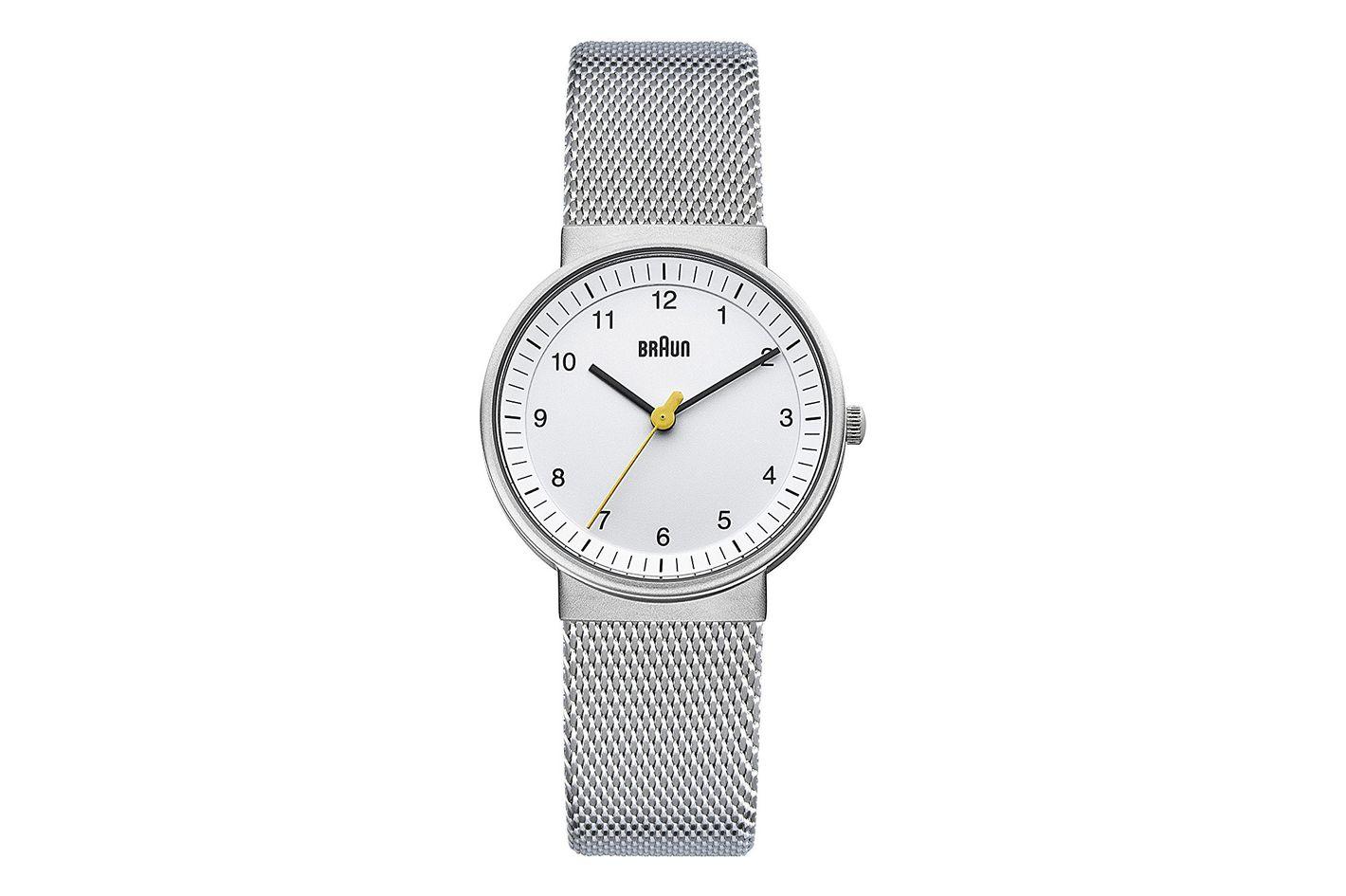Braun Women's Classic Silver-Tone Watch