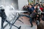 Of Course European Dairy Farmers Riot With Milk-Filled Hoses