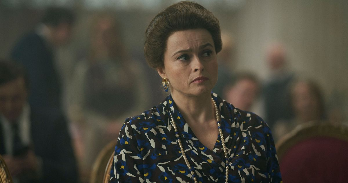 Helena Bonham Carter Has Problems With 'The Crown' Fiction