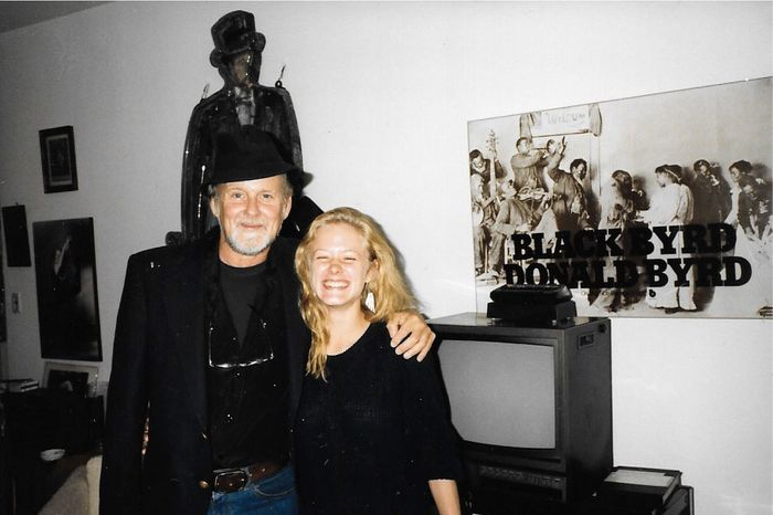 Bob and Nicole Fosse at home on West 58th Street in 1986.