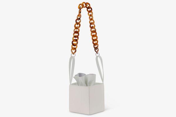 KARA White Dirt Bag