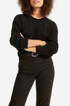 Everlane Teddy Wool Blend Crew Neck Sweater