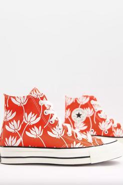 Converse Chuck 70 Hi Summer Spirit Floral Print Sneakers