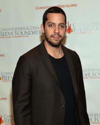 David Blaine attends the Christopher & Dana Reeve Foundation's A Magical Evening Gala at Cipriani, Wall Street on November 28, 2012 in New York City.