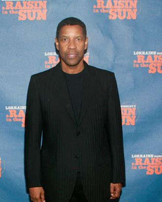 Denzel Washington== Opening Night Curtain Call and After Party for