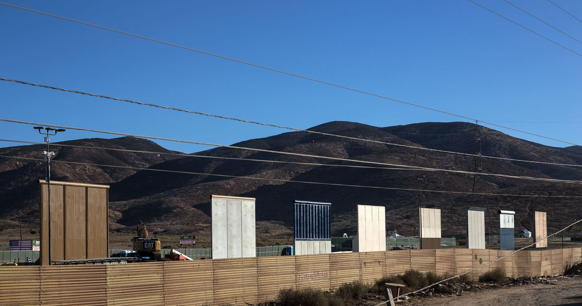 Which Mexican Border-Wall Prototype Is the Worst?