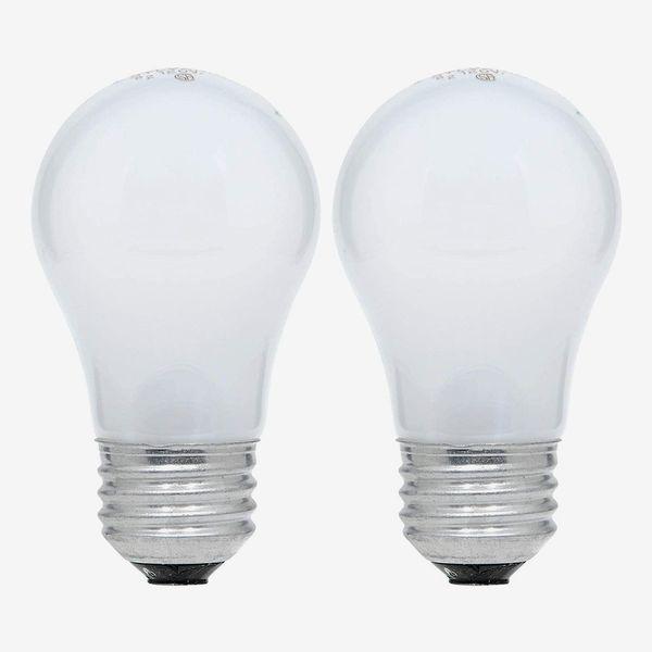 Sylvania Soft White Incandescent 15-Watt Light Bulb, 2-Pack