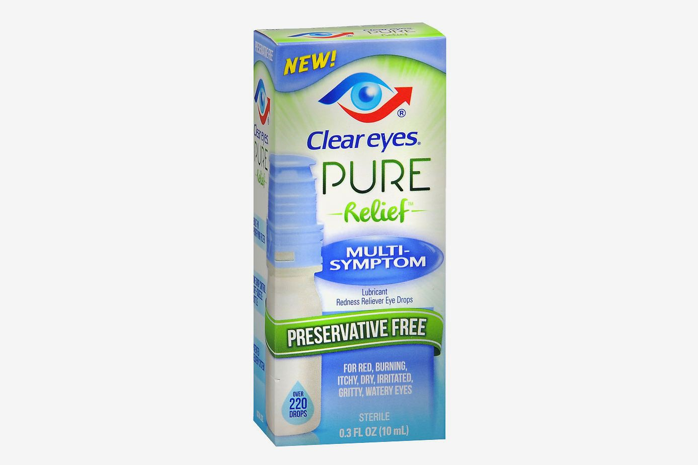 Clear Eyes Pure Multi-Symptom Relief