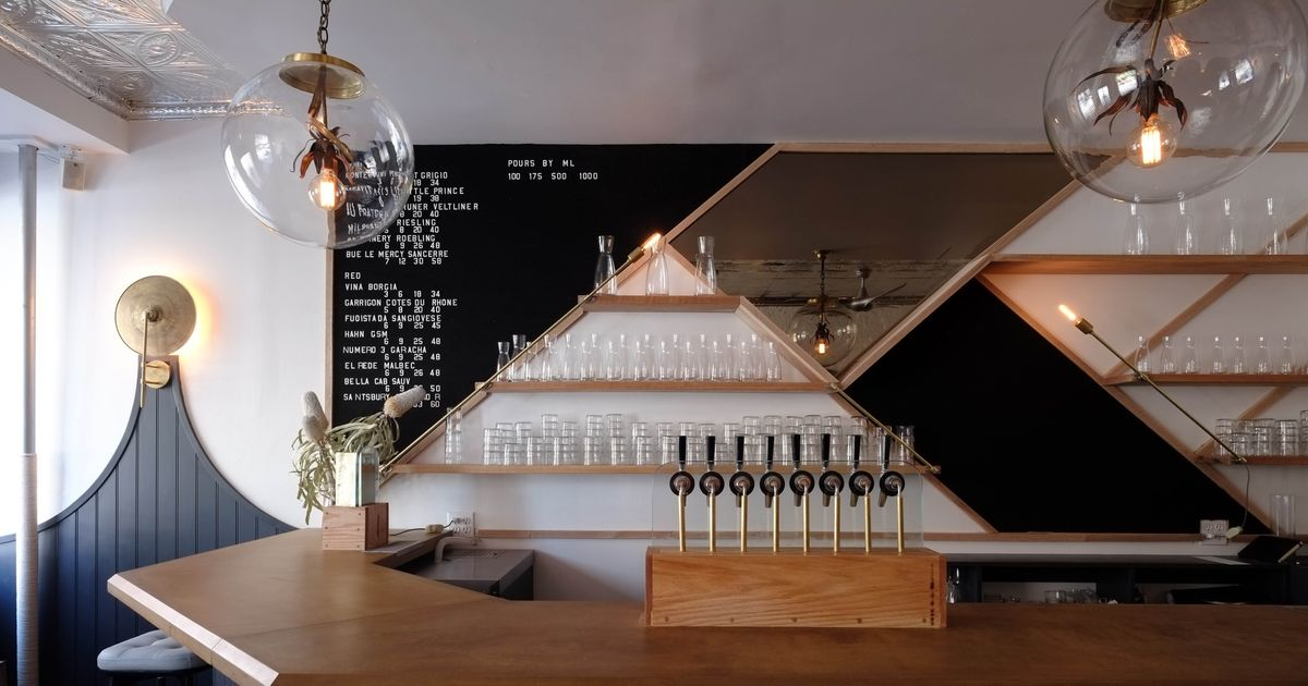 At NYC's Newest Wine Destination, Everything Is on Tap All the Time