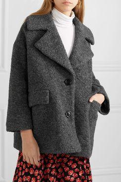 Ganni Wool-Blend Bouclé Jacket