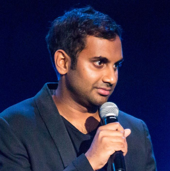 Aziz ansaris post metoo working out new material shows the scene inside one of aziz ansaris recent shows stopboris
