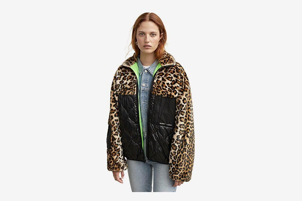 Sandy Liang Dean Fleece Jacket