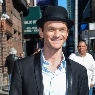 NEW YORK, NY - APRIL 24: Actor Neil Patrick Harris leaves the