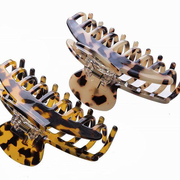 Medium Leopard Claw Hair Clips