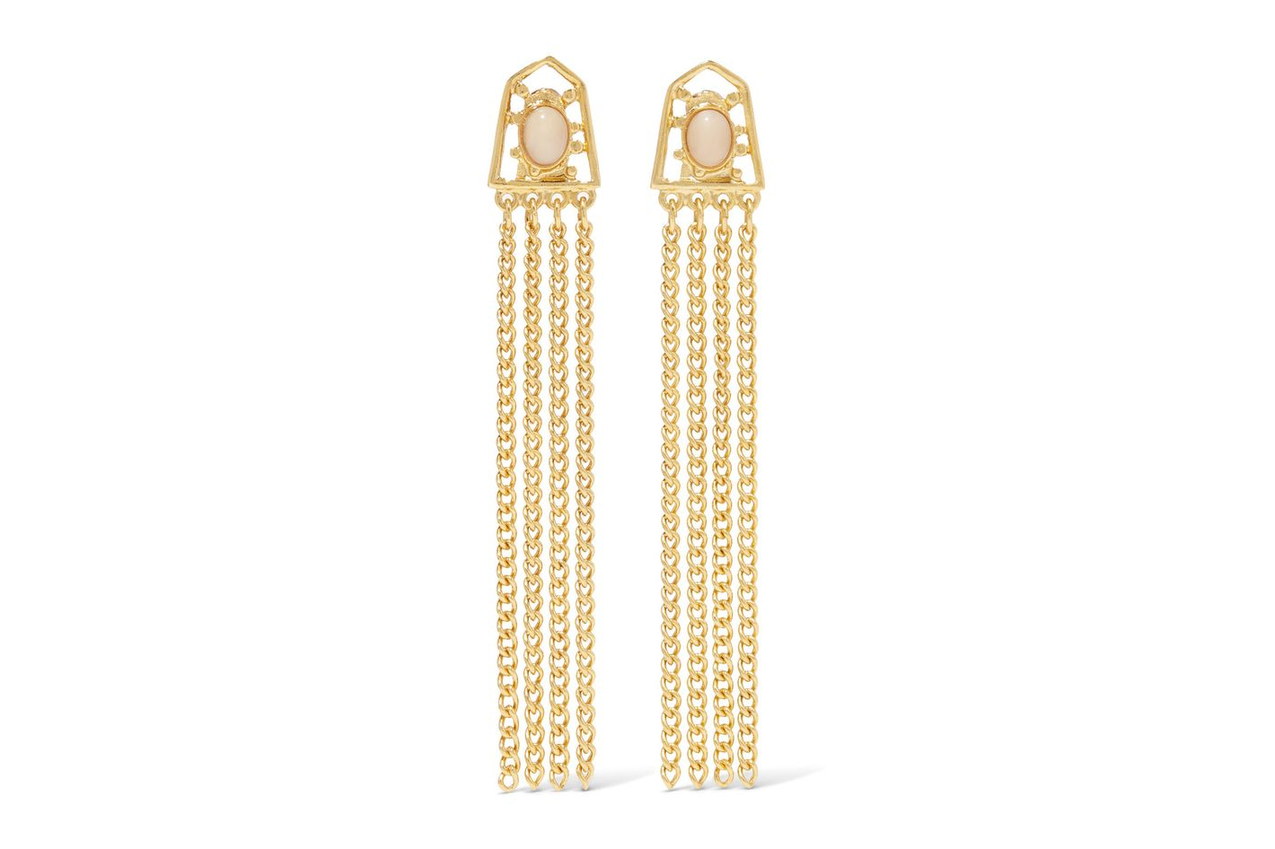Ben-Amun Gold-Plated Earrings