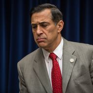 Rep. Darrell Issa (R-CA) arrives for a hearing on Capitol Hill on October 10, 2012 in Washington, DC. The hearing before the House Oversight and Government Reform Committee focused on the security situation in Benghazi leading up to the September 11 attack that resulted in the assassination of U.S. Ambassador to Libya J. Christopher Stevens.