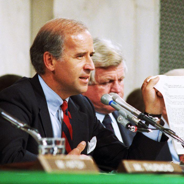 Anita Hill Testimony Crime Bill Haunt Biden 2020