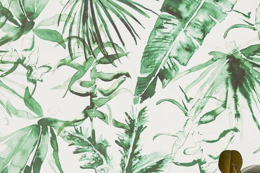 "Expressive Palms Removable Wallpaper (in Panels of 24"" x 48"")"
