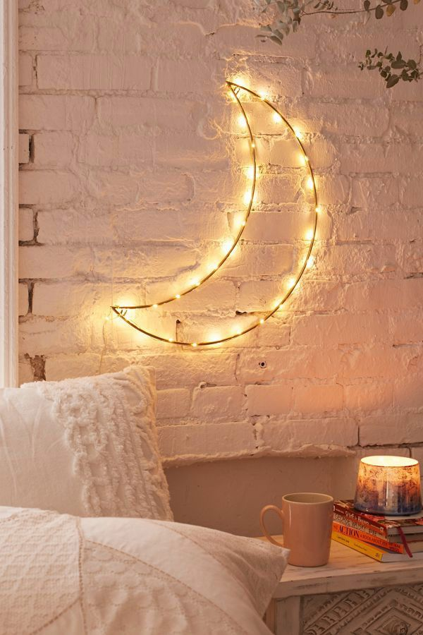 Urban Outfitters Geo Moon Light Sculpture