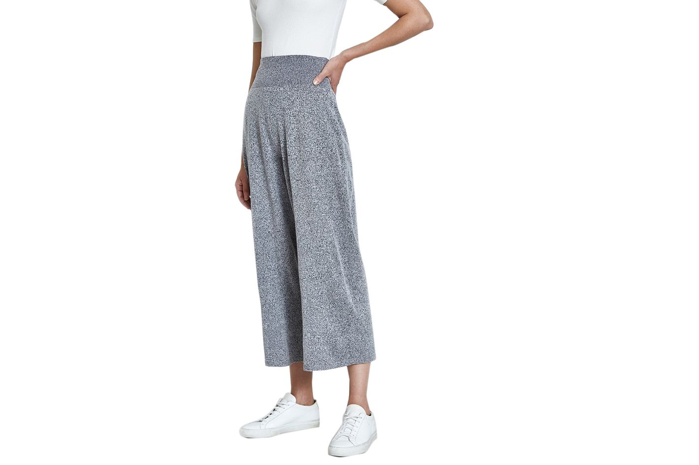SORI High Waist Pants in Gray