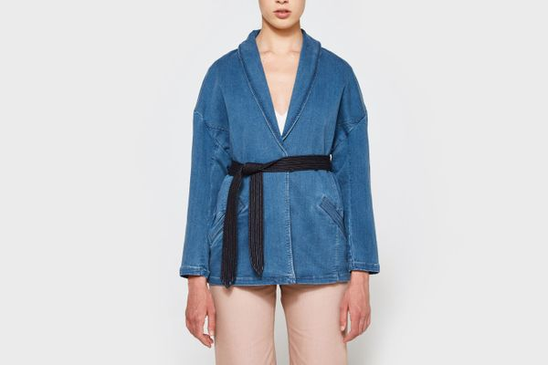 Farrow Denim Wrap Coat