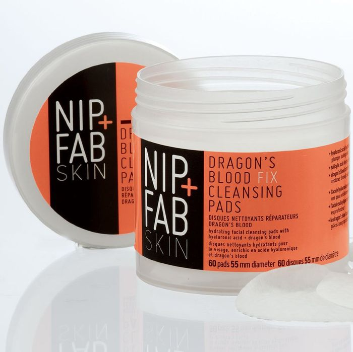 Nip + Fab Dragon's Blood Fix Cleansing Pads.